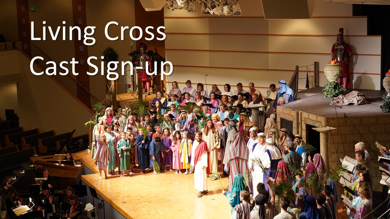 Living Cross Cast Sign Up