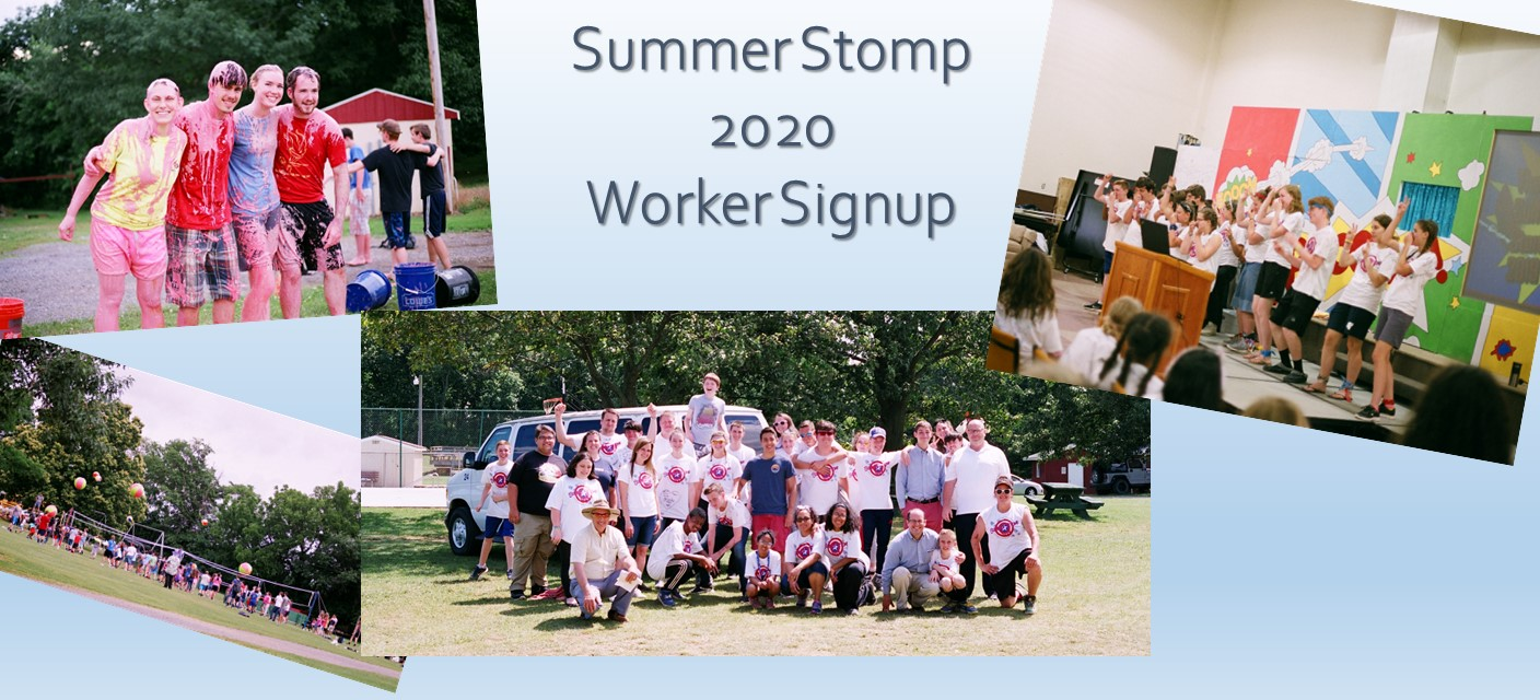Summer Stomp Worker Sign-up